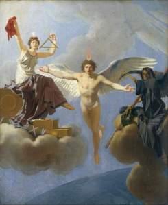 La Liberté ou la loi Hadopi ! (Jean-Baptiste Regnault - Domaine public)