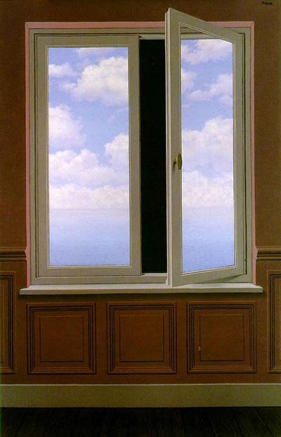 René Magritte. La lunette d'approche.