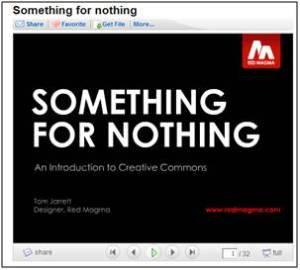 Someting for nothing. Tom Jarret. Red Magma