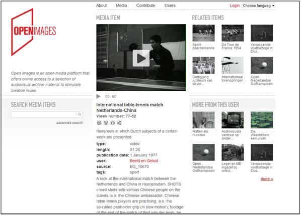 Open Images : un exemple concluant de diffusion en open Access de documents numérisés par des institutions culturelles.