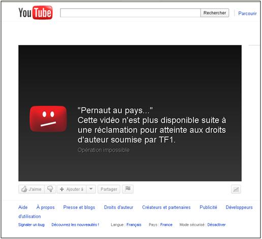 Zero Pointe Pour Youtube A L Ecole Du Droit D Auteur S I Lex