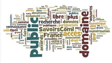 """Les mots de la déclaration """"Non à la privatisation du domaine public en France !"""""""