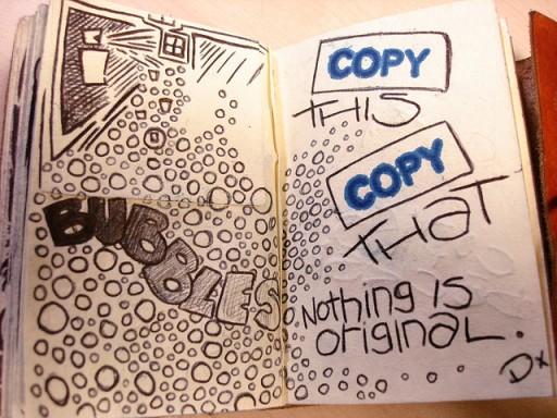 Copy this, Copy that. Par Leeks. CC-BY-NC. Source  : Flickr