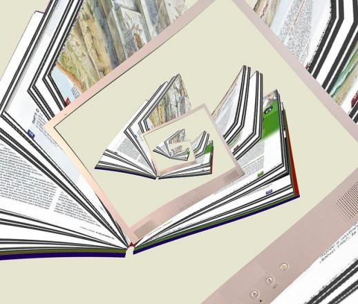 Ecrans infinis. Par fdecomite. CC-BY. Source : Flickr