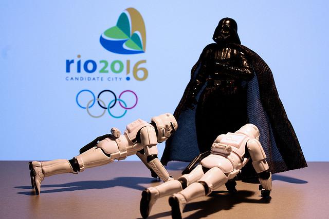 Les Jeux Olympiques de Rio en 2016 passeront-ils du côté obscur, comme ceux de Londres avant eux ? (Par Stephan. CC-BY-NC-SA).