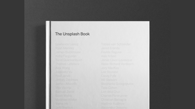 unsplashbook
